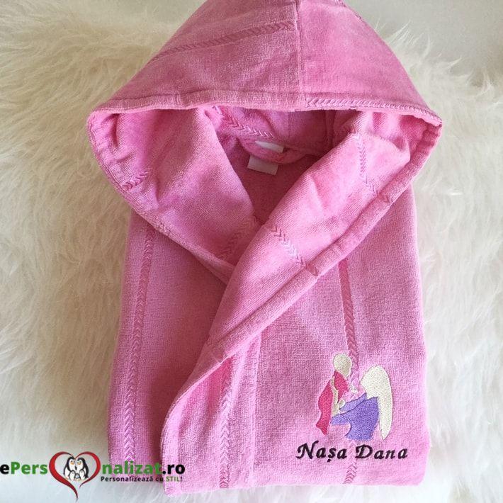 Halat dama roz deschis