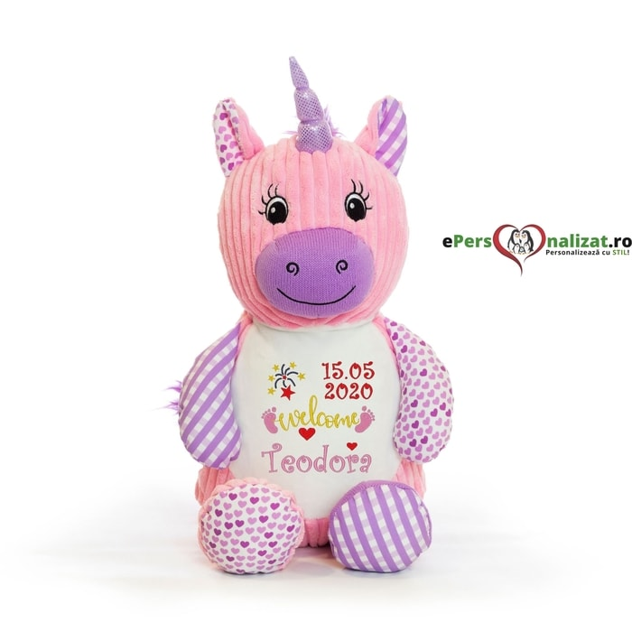 unicorn personalizat jucarie plus