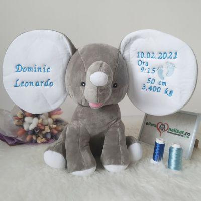 Elefantel cu urechi mari personalizate