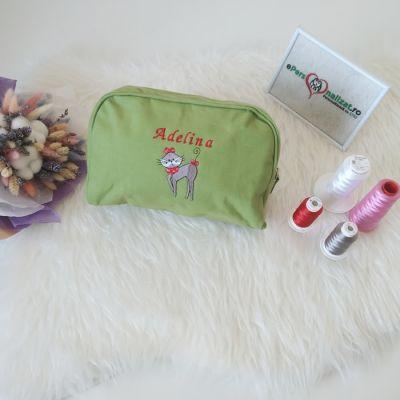 Geanta cosmetice personalizata