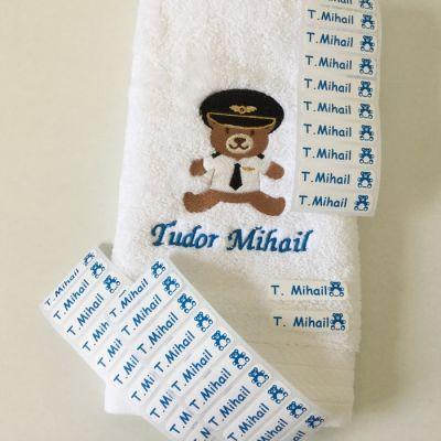 Prosop personalizat si etichete personalizate Tudor Mihail