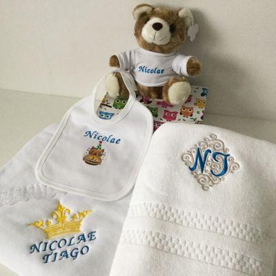 Set cadou pentru nou nascut personalizat