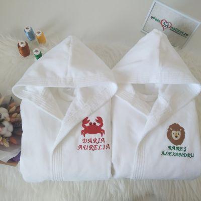 Set halate personalizate pentru copii