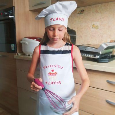 Sort copii personalizat Chef Galusca