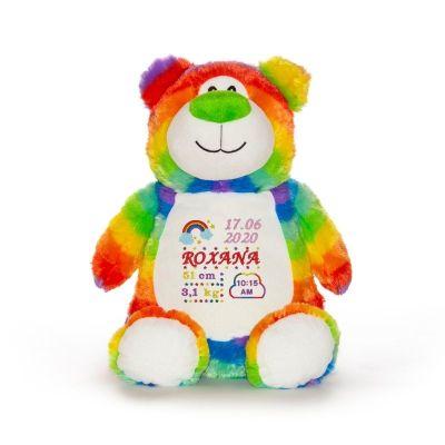 Ursulet personalizat bebe fetita