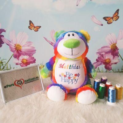 Ursulet personalizat bebe baiat