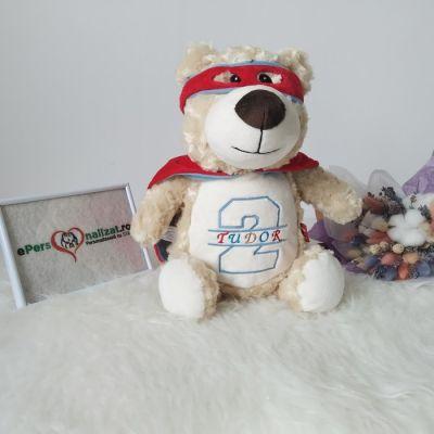 Ursulet plus personalizat pentru TUdor