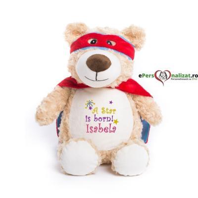 Ursuleți de pluș personalizați prin broderie!
