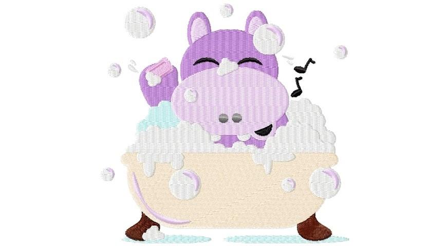 Laptele de hipopotam nu e roz