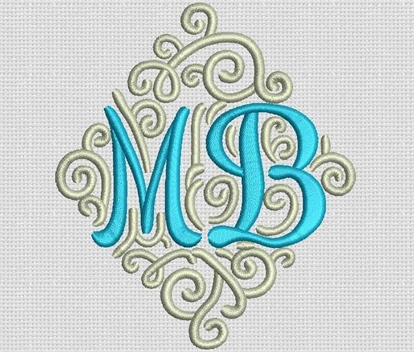 Monograme elegante